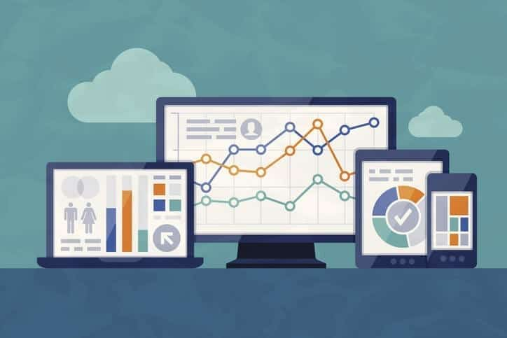 Statistics and Analysis email marketing - Website reporting - Home